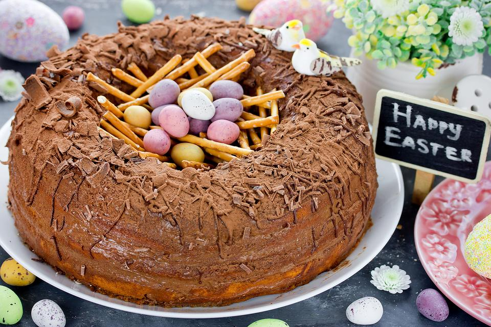 Easter Nest Cake: You'll Have This Easy Easter Cake Ready Before the Easter Bunny Hides His Eggs