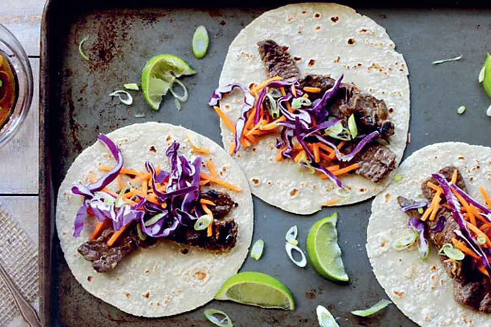Easy Korean BBQ Beef Tacos Recipe: This Delicious Korean Barbecue Beef Taco Recipe Celebrates Asian Flavors