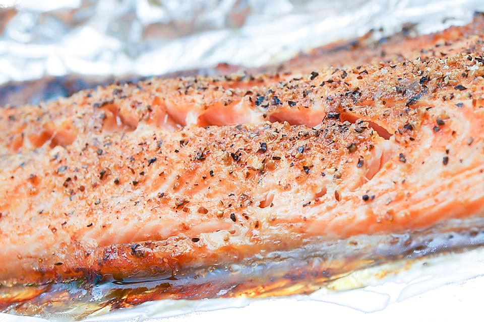 Easy Lemon Garlic Salmon Recipe: This Buttery Salmon In Foil Recipe Is Delish Oven Baked or Grilled