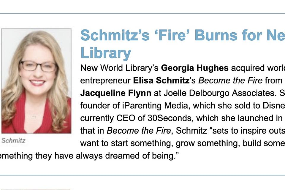 """Editor's Letter: """"Become the Fire"""" Inspires You to Start, Build or Become Something You've Always Dreamed of Being"""