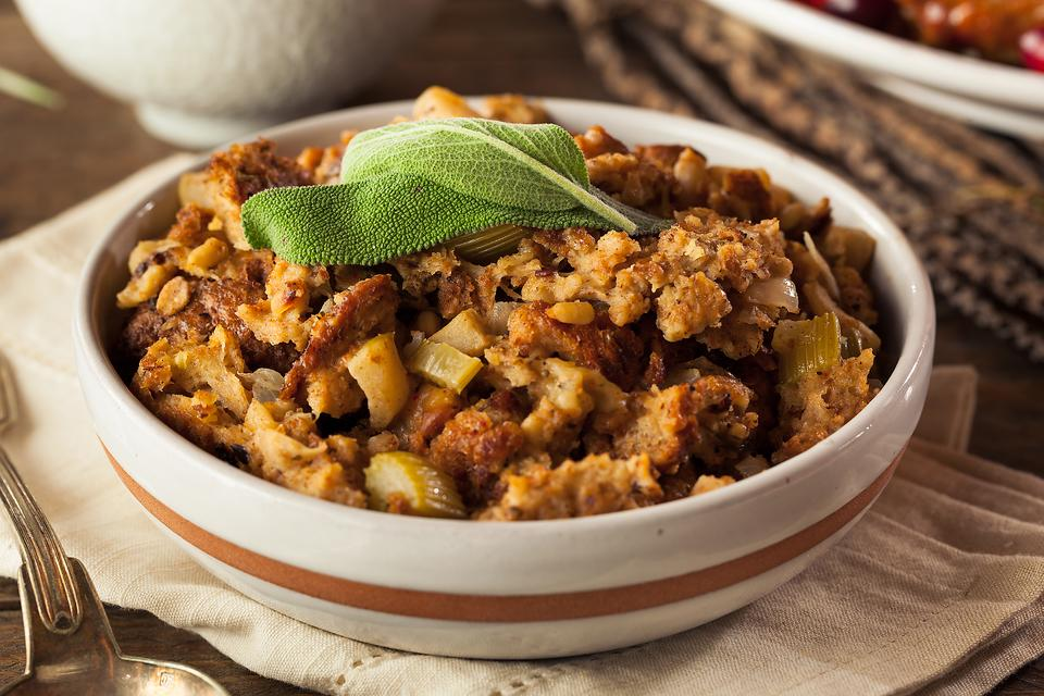 Creative Stuffing Recipes: Eggplant Stuffing Gives a Traditional Thanksgiving Side Dish a Remix