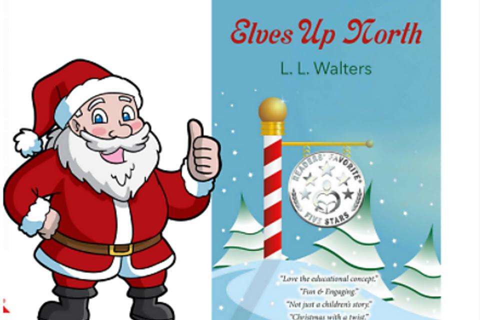 """Elves Up North"": An Interactive Children's Holiday Book for All Ages!"