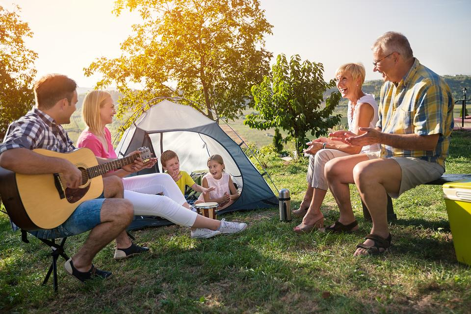 Fall Camping: Enjoy Autumn at Home by Camping in Your Backyard!