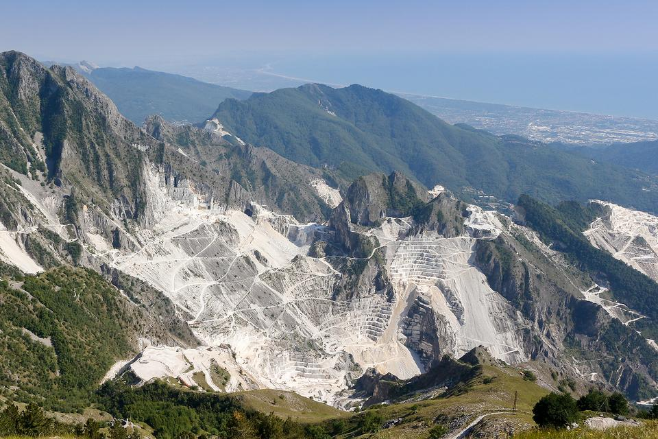 Marble Quarries in Carrara, Italy: Exploring the White Mountains of Northern Italy