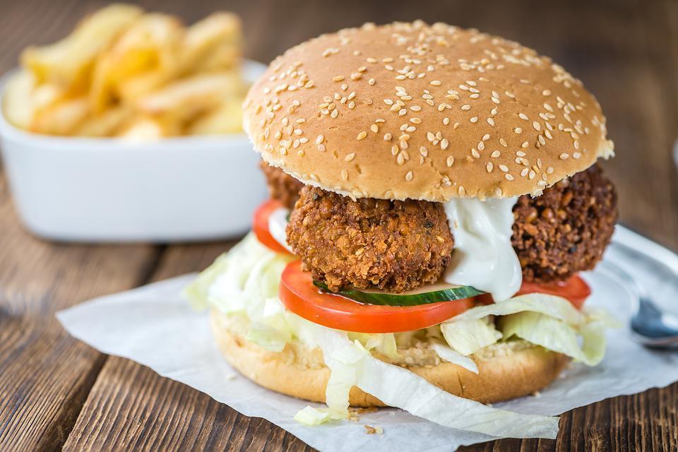 Falafel Burgers: You'll Falafel in Love With This Healthy Vegetarian Burger