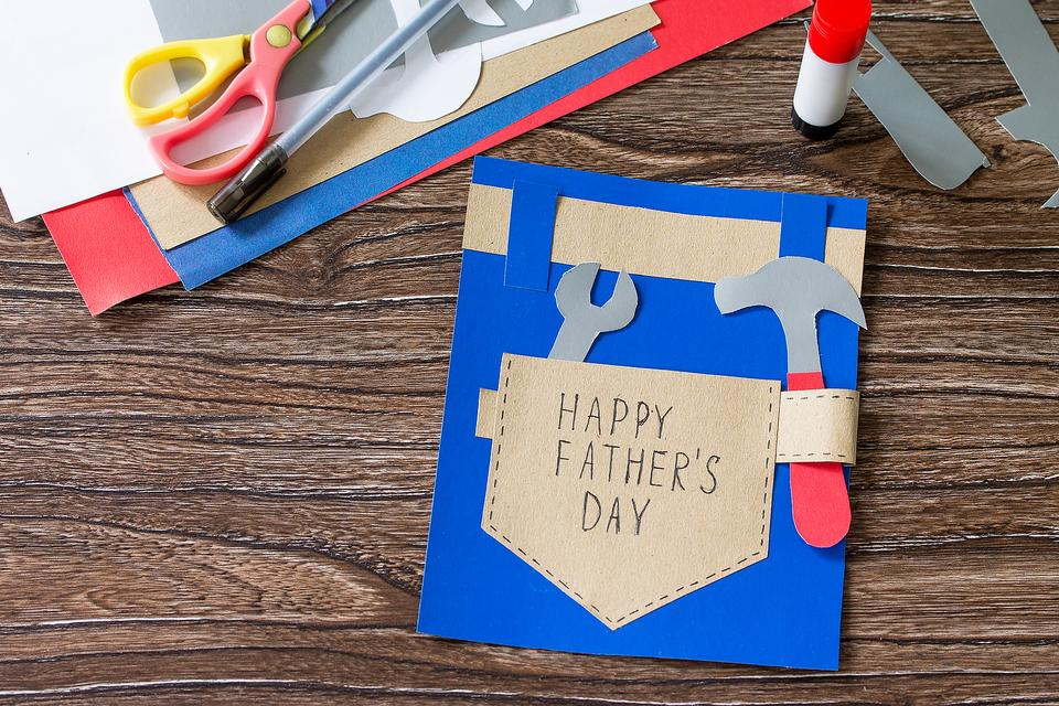 Father's Day Card Craft for Kids: Dad Will Love This DIY Handyman Card on His Special Day