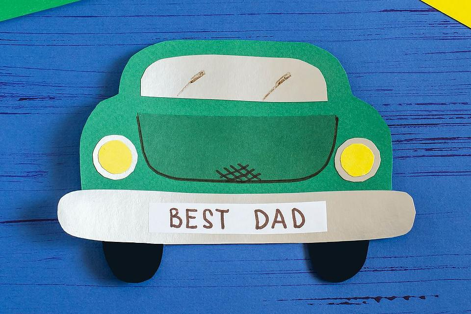 DIY Father's Day Cards for Kids: Give Dad a Car This Year With This Fun Craft