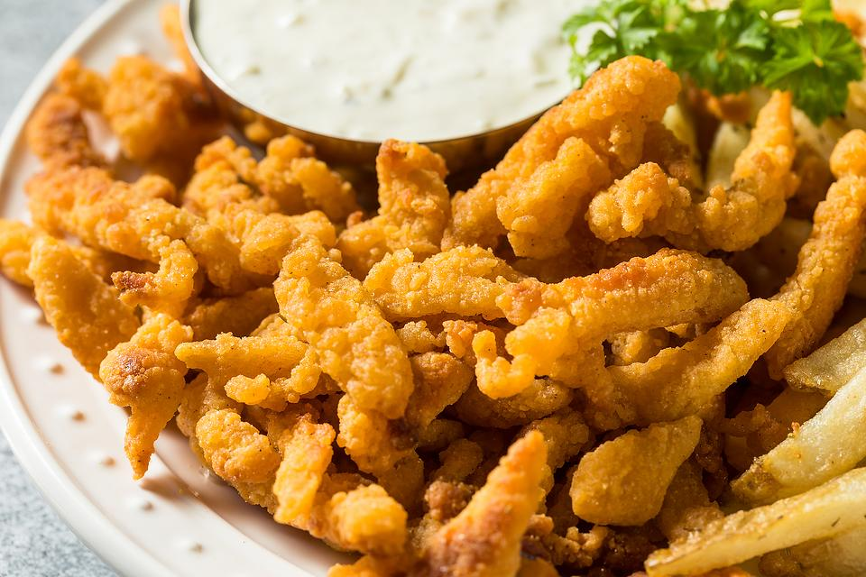 Golden Fried Clam Strips Recipe: This Easy Fried Clams Recipe Is Crunchy & Addictive