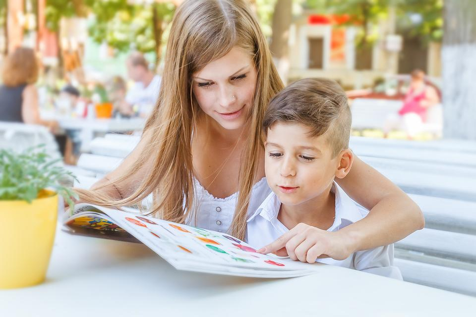 Activities When Dining Out With Kids: Teach Children How to Decode a Restaurant Menu!