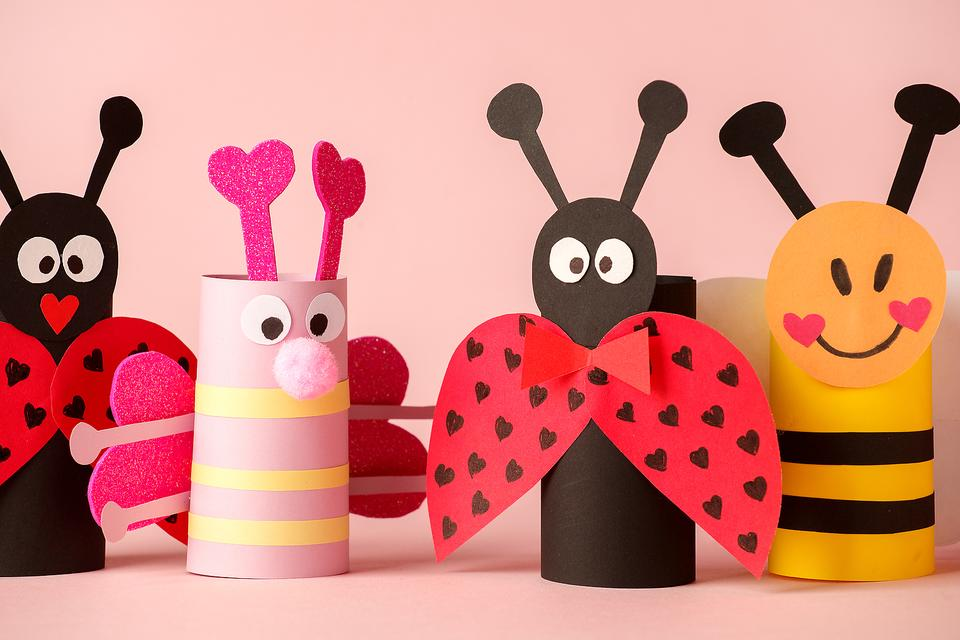 Toilet Paper Tube Crafts: These Adorable Bugs Are Fun to Make & a Great Spring Craft Project
