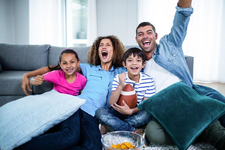 Football, Soccer, Baseball ... Whatever! How to Get in the Game As a Family!