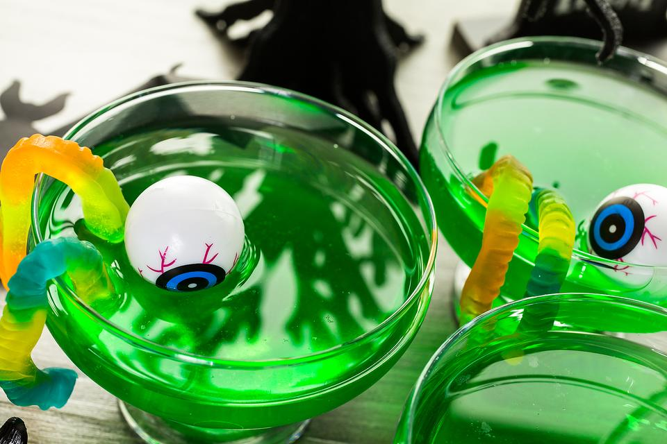 Get Slimed! How to Make Ghoulishly Green Punch for Halloween!