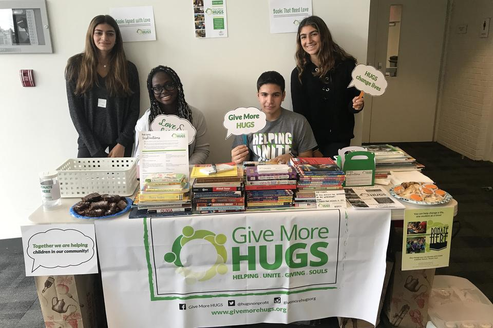 Give More Hugs: How This Non-Profit Empowers Students to Give Back (& Parents, Too)!