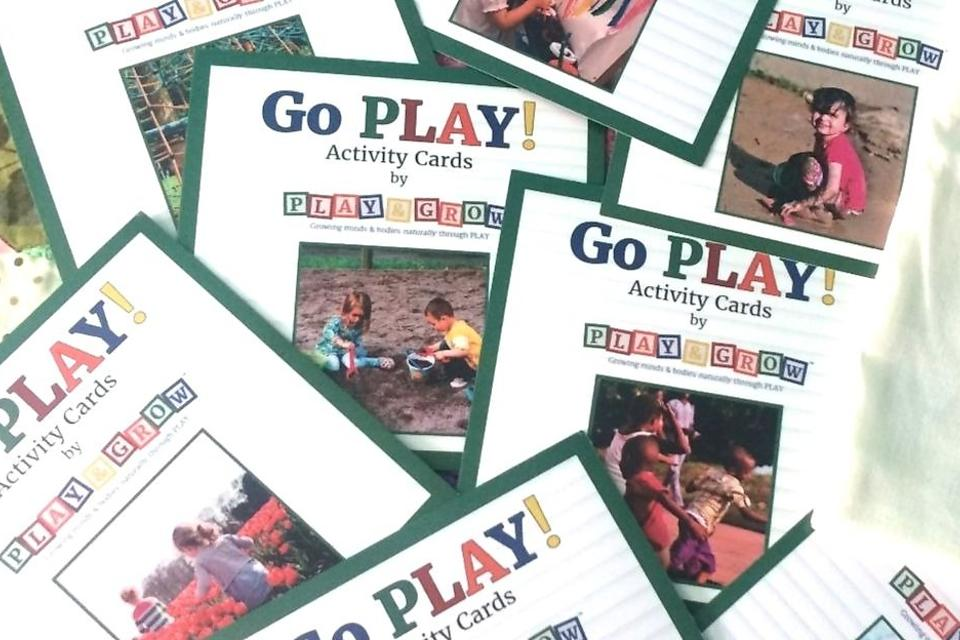Go Play! Activity Cards: Play & Grow's Activity Cards Are Fun, Educational and Earned the 30Second Mom Loves This Award!
