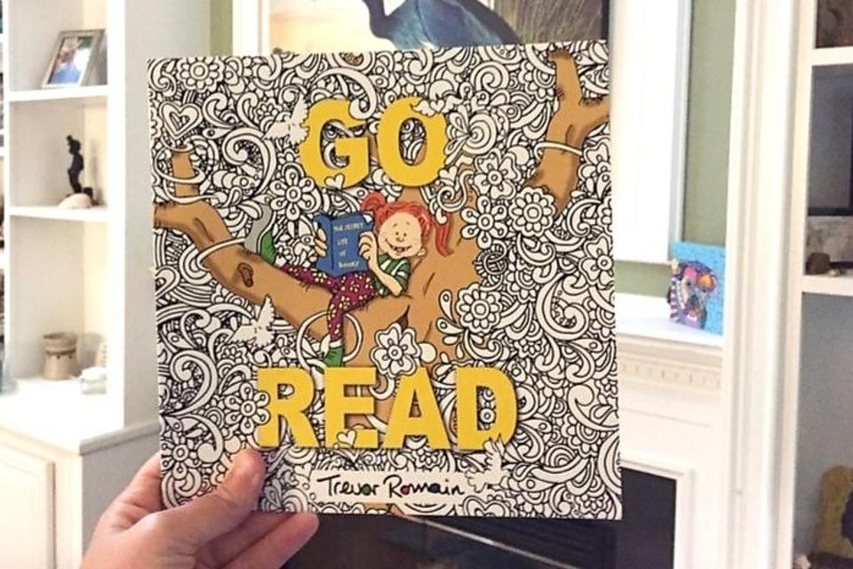 """Go Read"" by Trevor Romain: This Alphabet Book Is a Must-Have for Aspiring Readers"