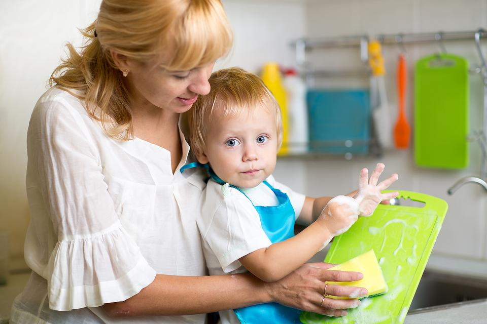 Good Chefs Clean Up! How to Teach Kids to Clean After Cooking!