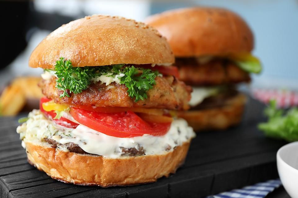 Greek Turkey Burgers Recipe: This Easy Turkey Burger Recipe With Tzatziki Sauce Is What's for Dinner