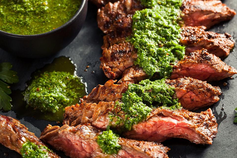 Grilled Flank Steak Recipe: This Easy Flank Steak With Cilantro Chimichurri Sauce Recipe Is What You Should Make Tonight