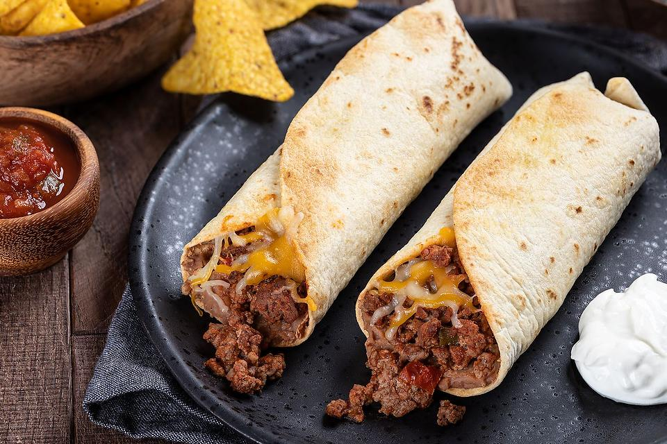 Ground Beef Recipes: This Is the Easiest Beef Burrito Recipe You Will Ever Find