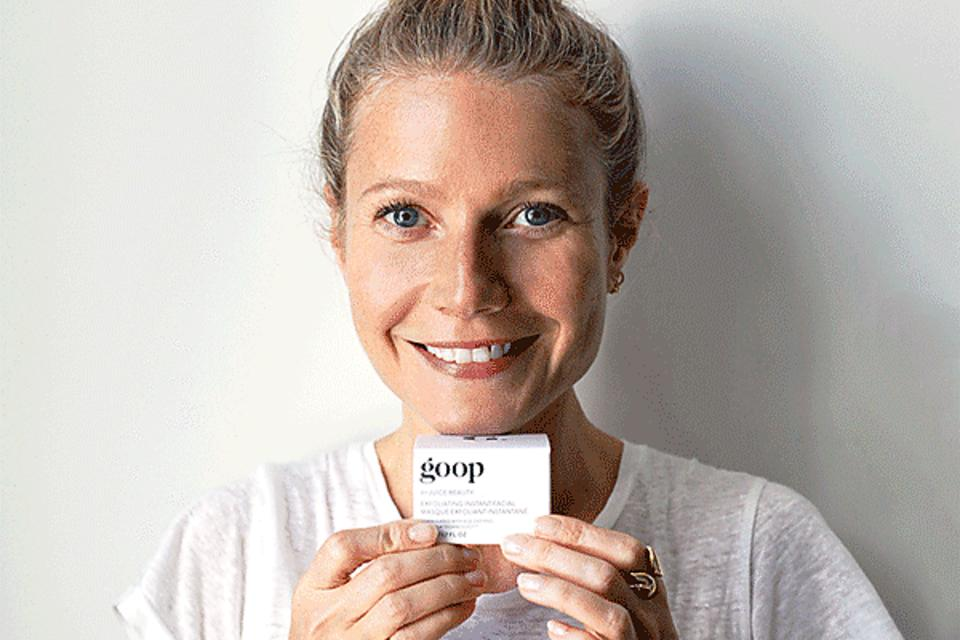 Gwyneth Paltrow's Goop Skin-care Products Are Good Enough to Eat