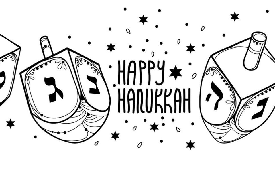 Hanukkah Coloring Pages For Kids: Free Printable Coloring Pages &  Activities For The Festival Of Lights Printables 30Seconds Mom