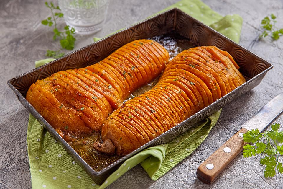 Hasselback Butternut Squash Will Impress Your Thanksgiving Guests (With Minimal Work!)