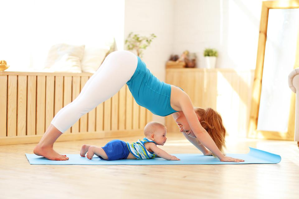Have a Baby & Want to Practice Yoga? 5 Tips That Really Work!