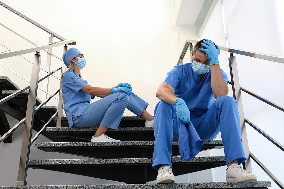 """Health-Care Workers, Trauma & PTSD: Why the COVID-19 Pandemic Is the """"Perfect Storm"""""""