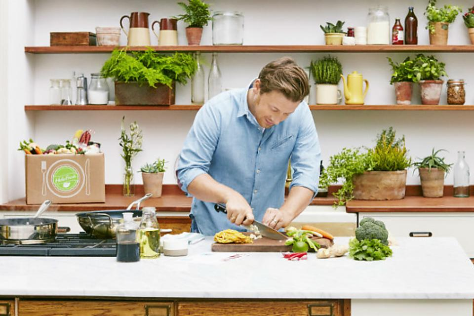 HelloFresh Delivers Chef Jamie Oliver to Your Doorstep!