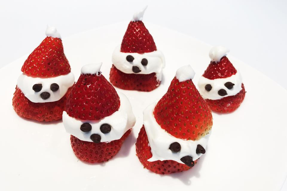 Holiday Fun With Fruit: How to Make 3-Ingredient Strawberry Santa Treats Kids Love!