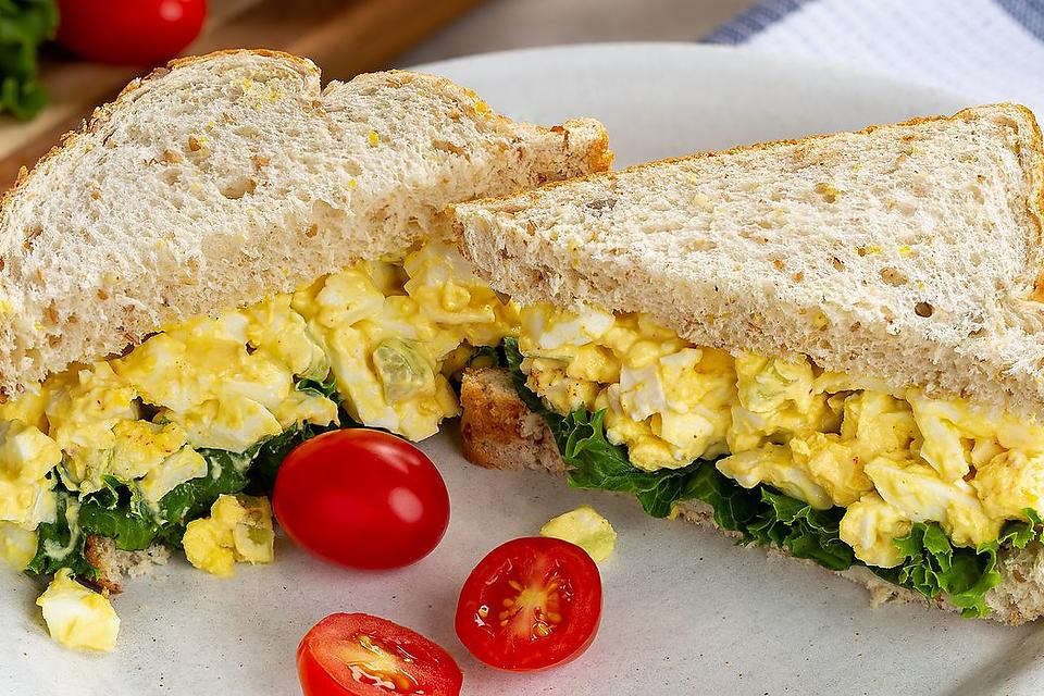 Incredible Egg Salad Recipe: Creamy Horseradish Egg Salad Recipe