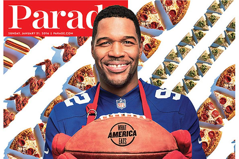 Super Bowl® Party Ideas:  3 Entertaining Tips From Michael Strahan!