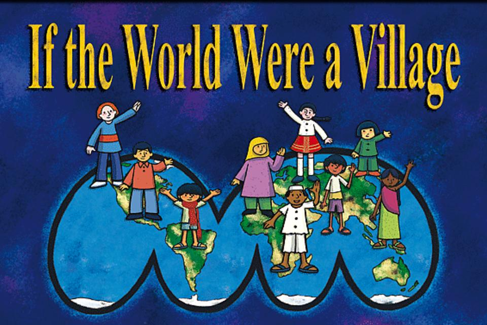 If the world were a village picture book
