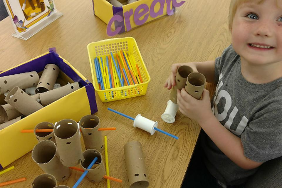 Toilet Paper Tube Crafts: How to Make Homemade DIY Tinker Toys
