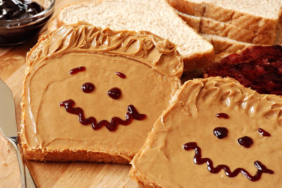How to Make Your Peanut Butter & Jelly Sandwich Happier (and Yourself, Too)!