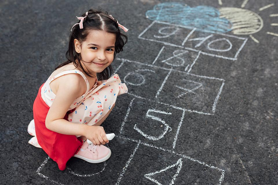 How to Play Hopscotch: Why Hopscotch Is a Hopping Good Family Activity for a Child's Development