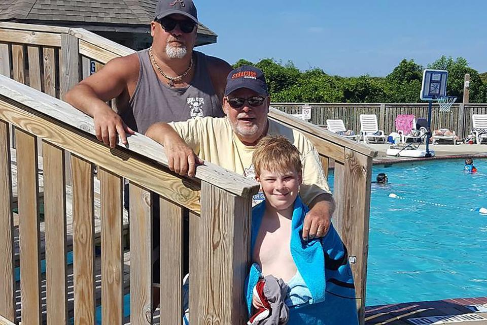This Single Dad Pays It Forward Because He Had a Role Model: His Father