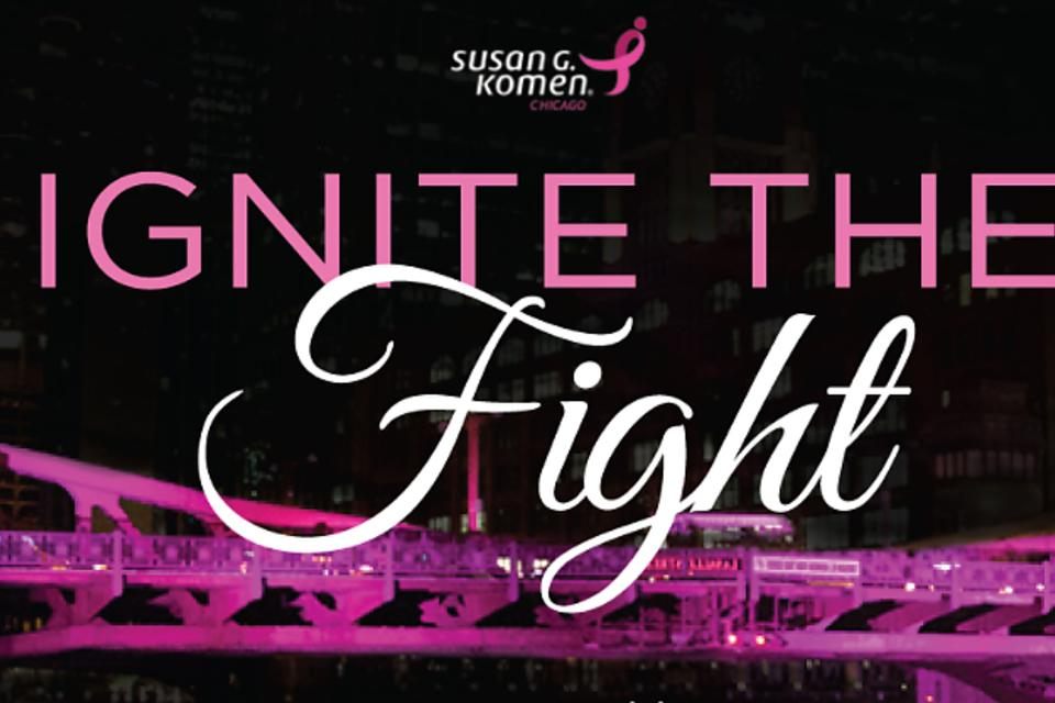 Ignite the Fight Bridge Lighting & Gala: Komen Chicago to Illuminate the City in Pink for Breast Cancer Awareness Month