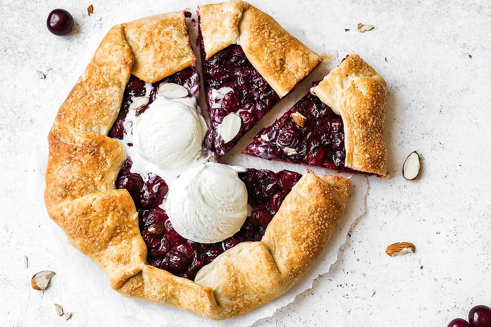 Incredibly Easy Cherry Galette Recipe: Celebrate Cherry Season With This Cherry Tart Recipe