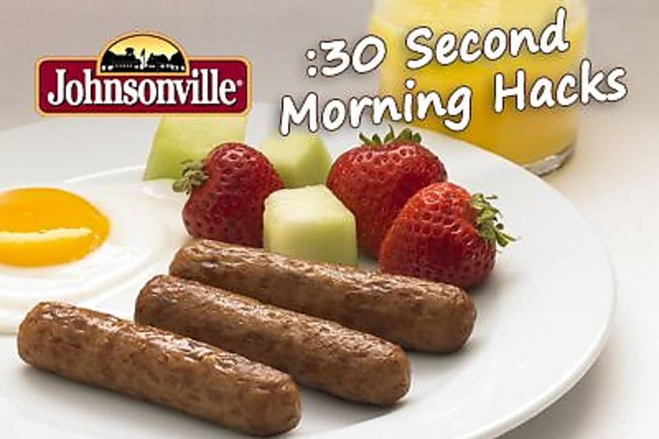 Join Our Morning Hacks Twitter Party With JohnsonVille Sausage!
