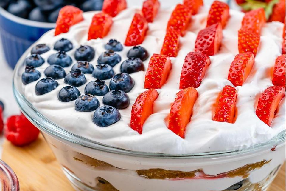 July 4th Berry Trifle Recipe: Yes, You Need to Make This Easy Patriotic Trifle Recipe This Weekend (No Refined Sugar!)