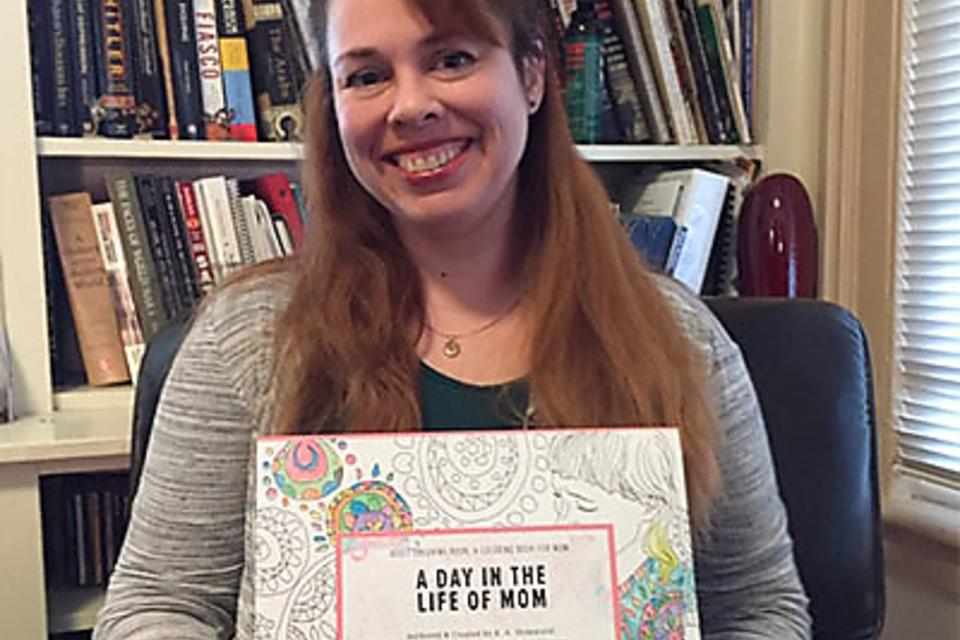 "Kathy Shimmield Discusses Her Adult Coloring Book, ""A Day in the Life of Mom!"""
