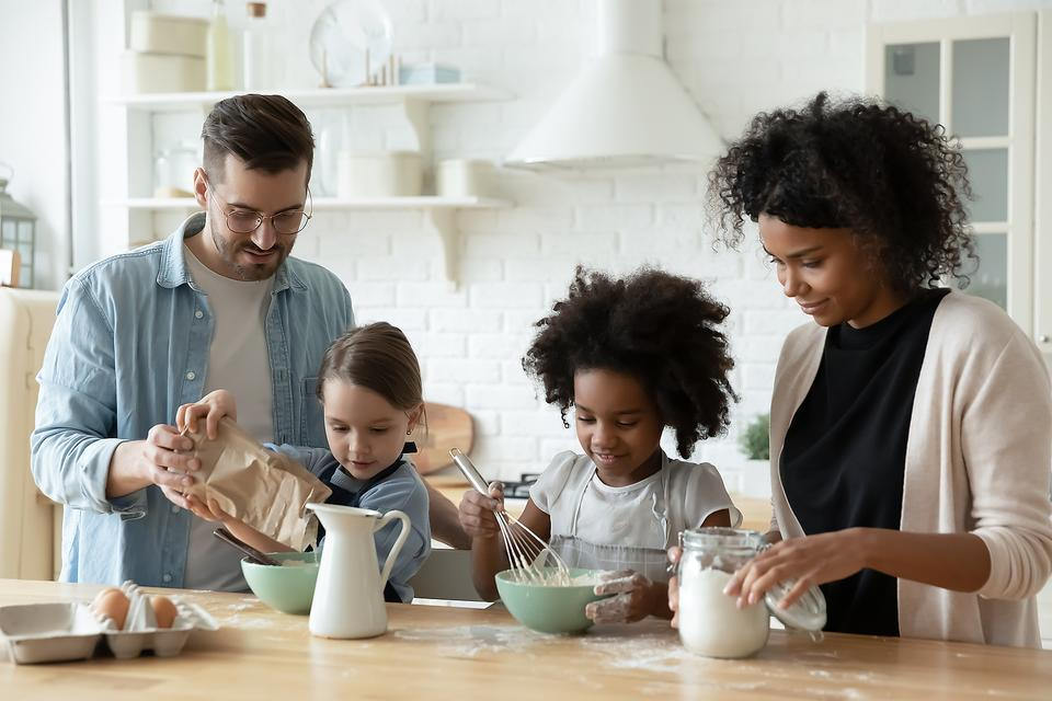 Families Cooking Together During the Coronavirus Pandemic: How to Keep Kids Entertained With Meal Prep