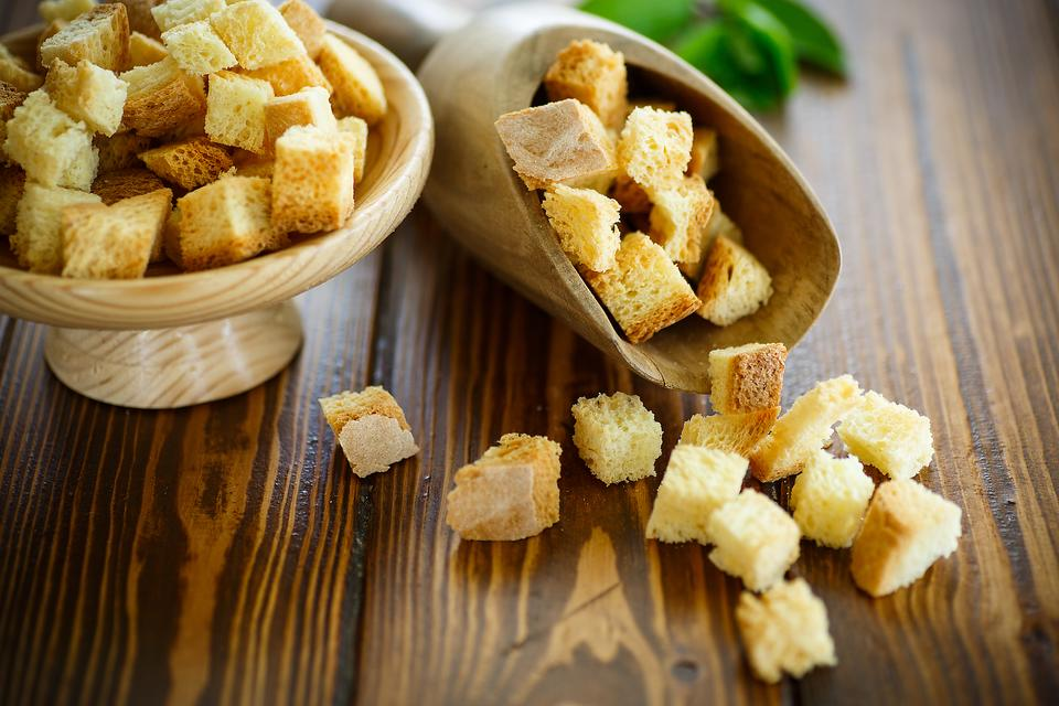 Kids Don't Like Crust? Keep It for Croutons! Here's the Easy Recipe!