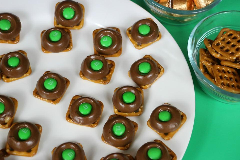 Leprechaun Thumbprints Recipe: An Easy 3-Ingredient St. Patrick's Day Snack Recipe