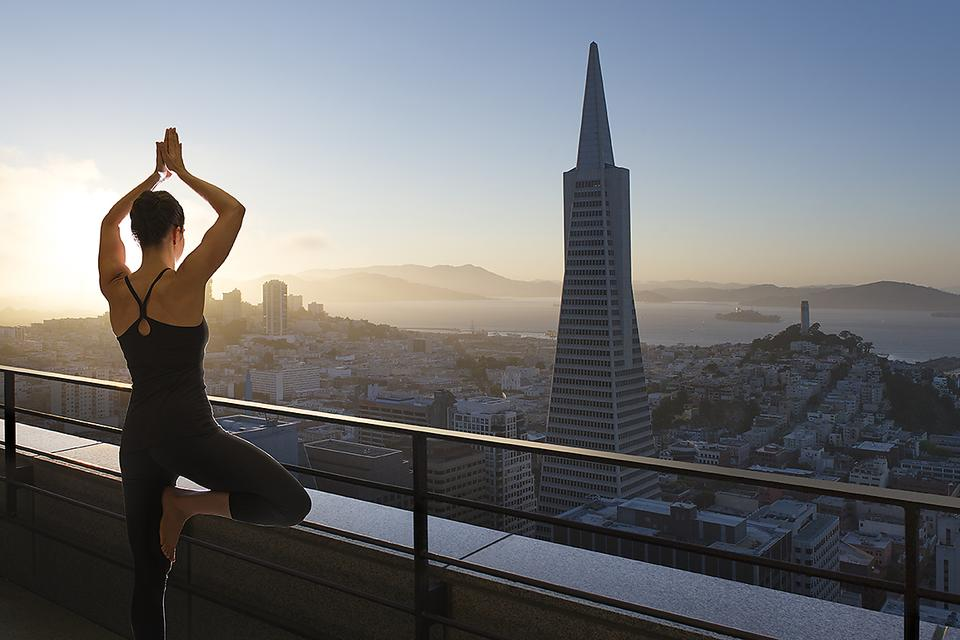 Loews Hotels in California Offer Outdoor Yoga (Vinyasa With a View)!