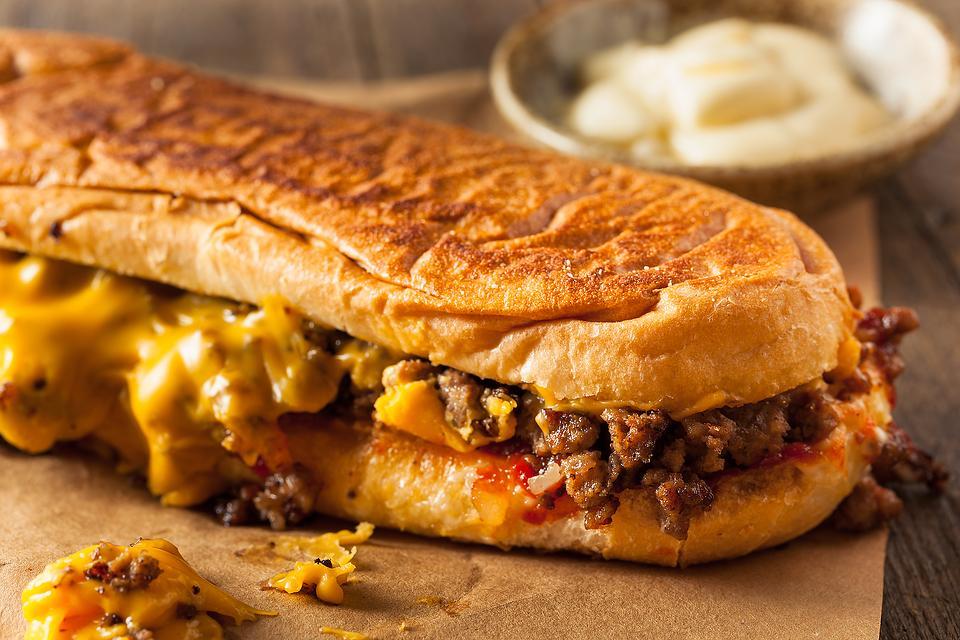 Pub-Style Sandwich Recipe: This Easy Cheesy Loose Meat Sandwich Recipe Is Yum