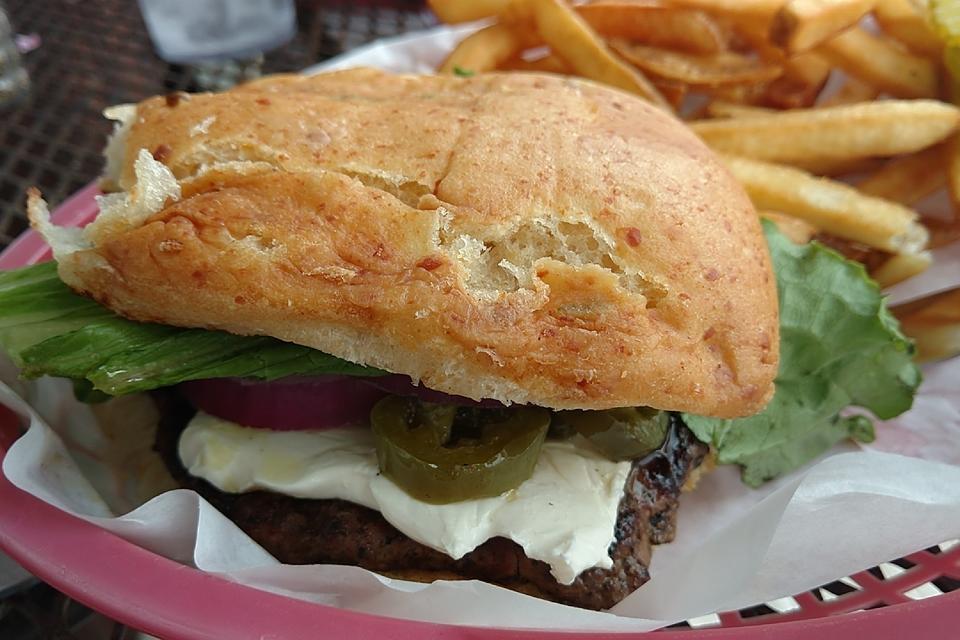 Make a Jalapeno Cream Cheese Burger Like Roadhouse (It's Famous)!