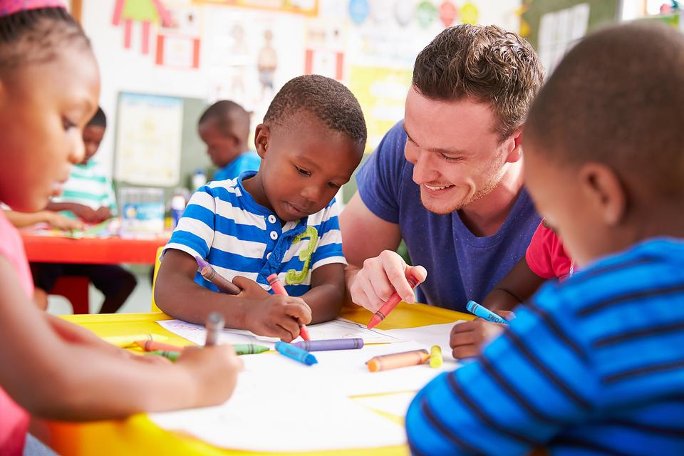 Male Teachers: The Many Advantages of Having a Male Preschool or Daycare Teacher