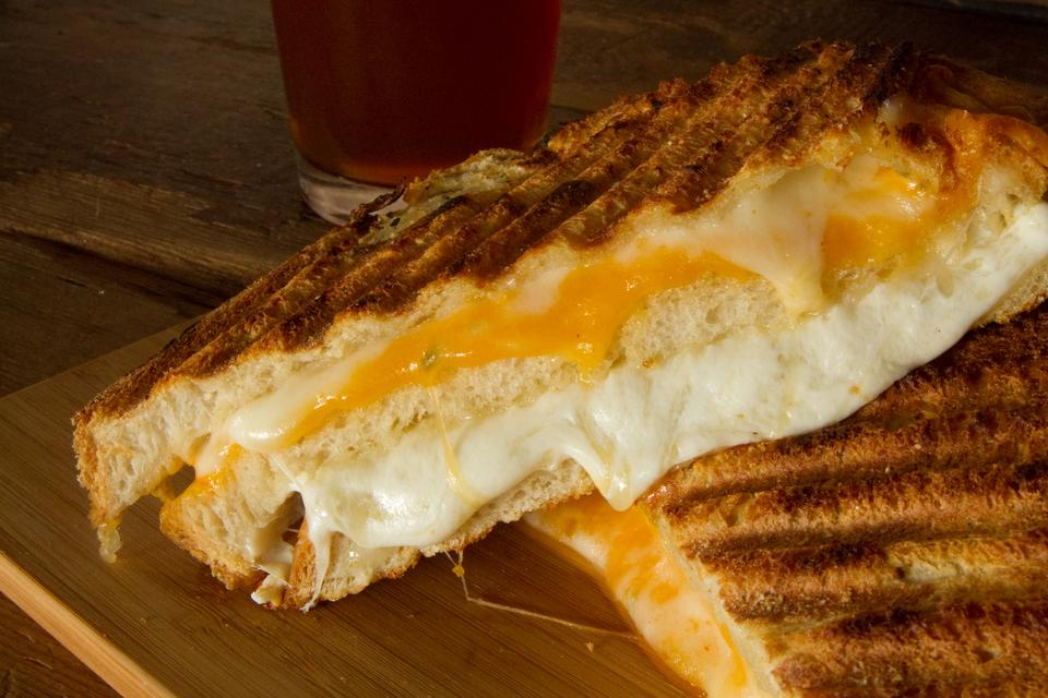 Ménage à Cinq Recipe: This Triple Decker Grilled Cheese Sandwich Recipe Has 5 Cheeses (and Avocado!)